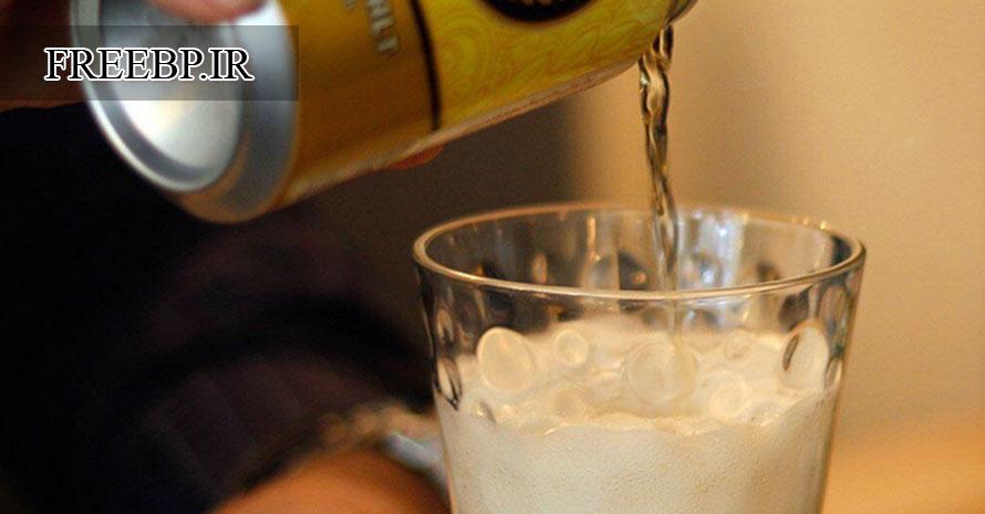 ماءالشعیر با الکل